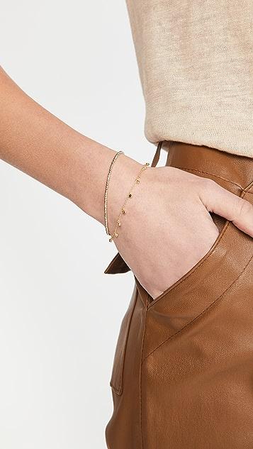 Adina Reyter 14k 小号珠饰链式手链