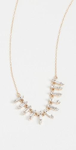 Adina Reyter - 14k Stack Baguette Necklace