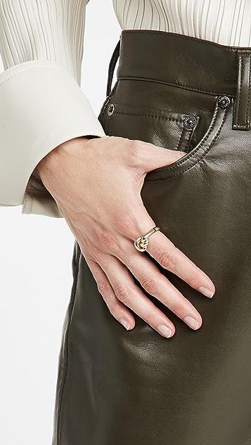 Adina Reyter Chunky Tube Knot Ring