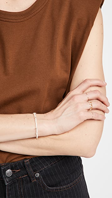Adina Reyter 钻石簇状淡水养殖珍珠手链