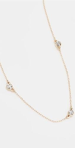 Adina Reyter - 5 Diamond Chain Necklace