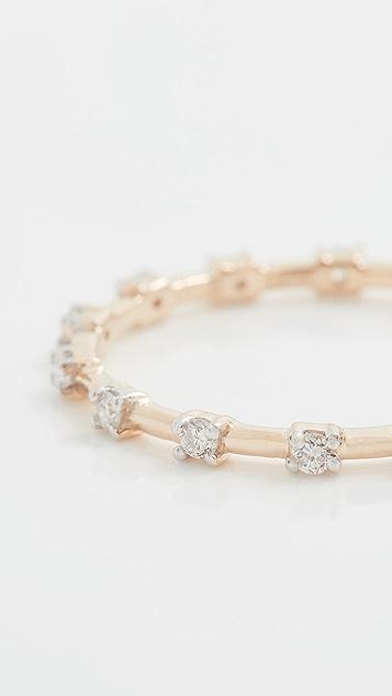 Adina Reyter 钻石永恒指环戒指
