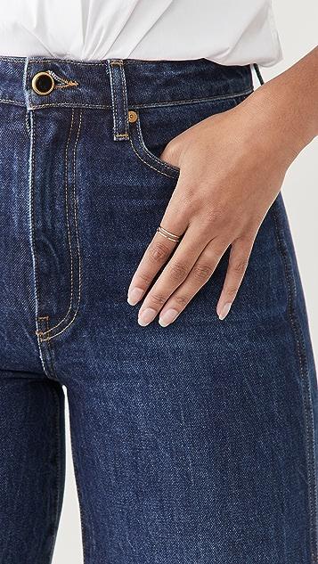 Adina Reyter Super Tiny Pave Dash Stacking Ring