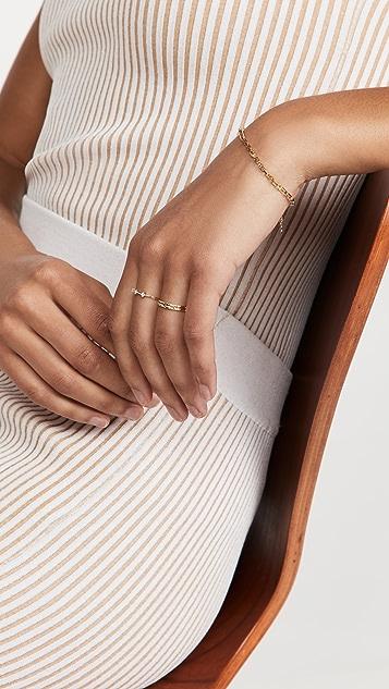 Adina Reyter Super Tiny 3 Diamond Stacking Ring