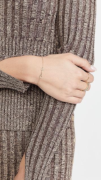 Adina Reyter Pave Horsebit Bracelet