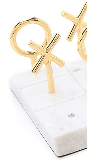 Jonathan Adler Brass Tic Tac Toe Game