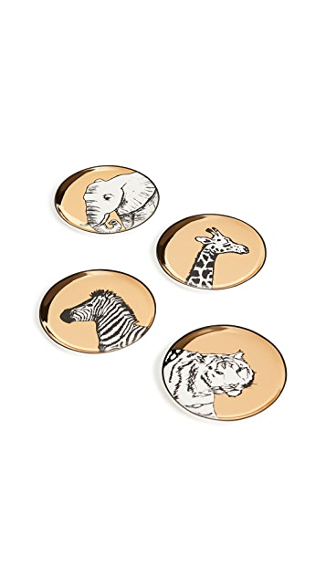 Jonathan Adler Animalia Coaster Set
