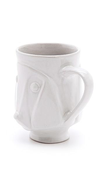 Jonathan Adler Utopia Dog Mug