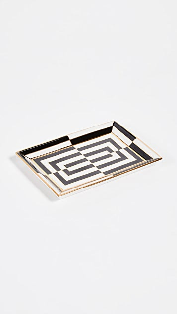 Jonathan Adler Op Art Rectangle Tray