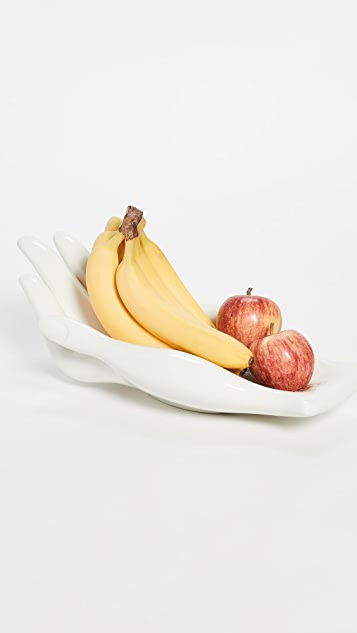 Jonathan Adler Gilded Eve Fruit Bowl