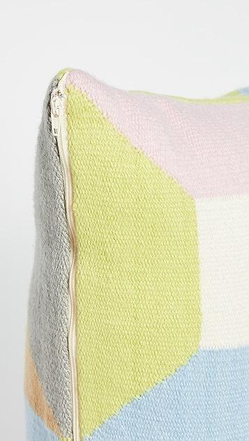 Jonathan Adler Harlequin Blocks Square Pillow