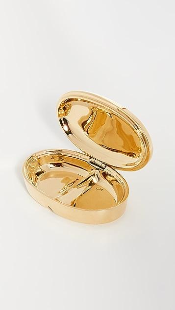 Jonathan Adler 黄铜色药丸盒