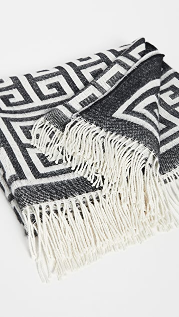 Jonathan Adler Greek Key Throw Blanket