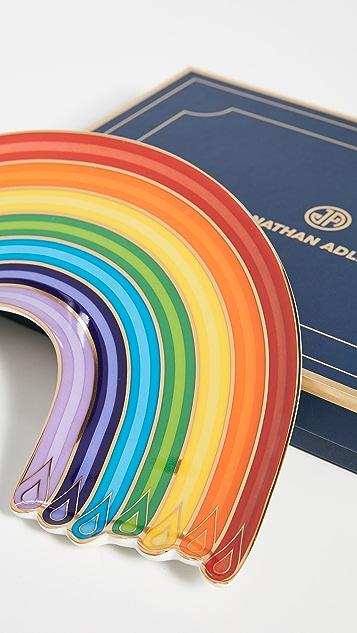 Jonathan Adler Dripping Rainbow Trinket 托盘