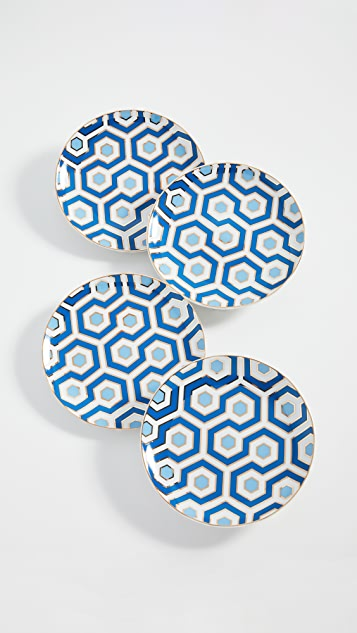 Jonathan Adler Newport Canape Plate Set