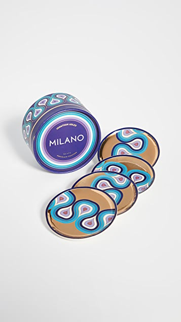 Jonathan Adler Milano 杯垫套装