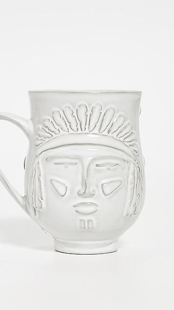 Jonathan Adler Utopia Macho Macho Reversible Mug