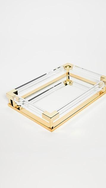 Jonathan Adler Small Acrylic Tray