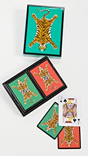 Jonathan Adler 虎纹涂漆卡片套装