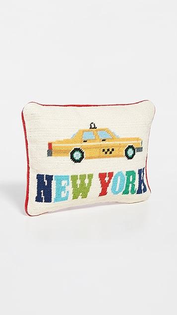 Jonathan Adler Jet Set New York 抱枕