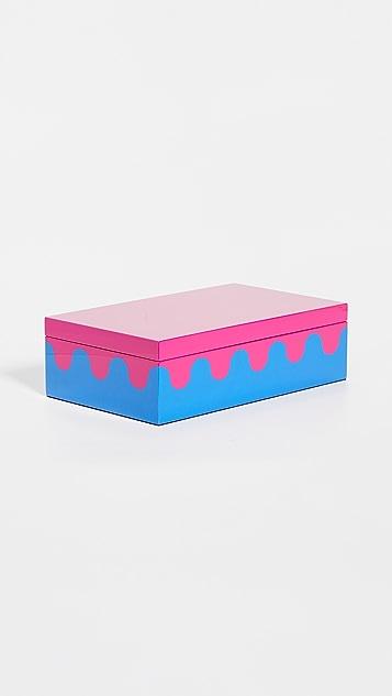 Jonathan Adler Ripple Box - Medium