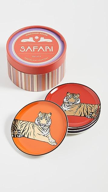 Jonathan Adler Safari Coasters