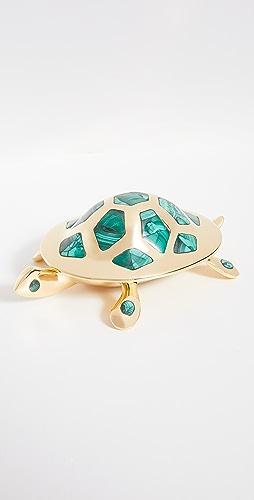 Jonathan Adler - 黄铜乌龟盒