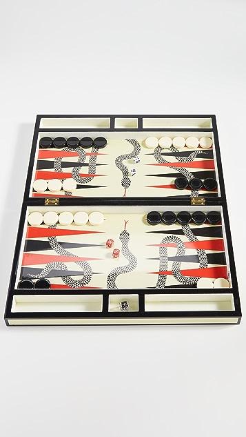 Jonathan Adler Snake Backgammon Set