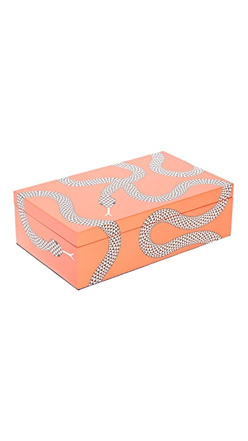 Jonathan Adler Eden Medium Lacquer Box