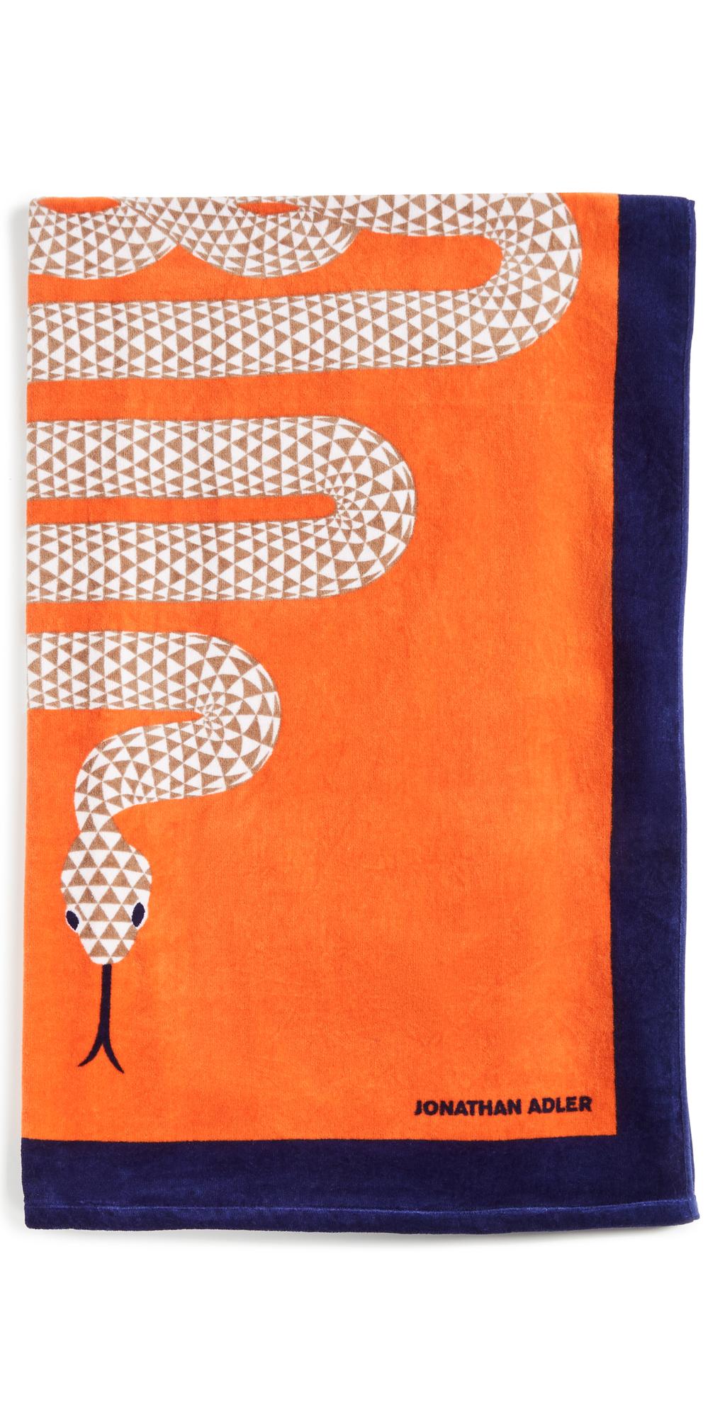 Snake Beach Towel