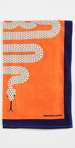 Jonathan Adler - Snake Beach Towel