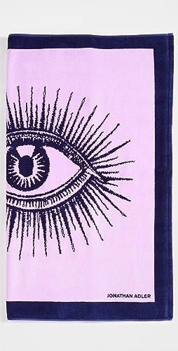 Jonathan Adler - Eyes Beach Towel