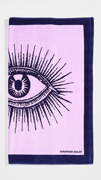Jonathan Adler Eyes 海滩浴巾