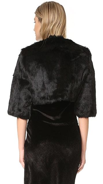 Adrienne Landau Little Fur Jacket