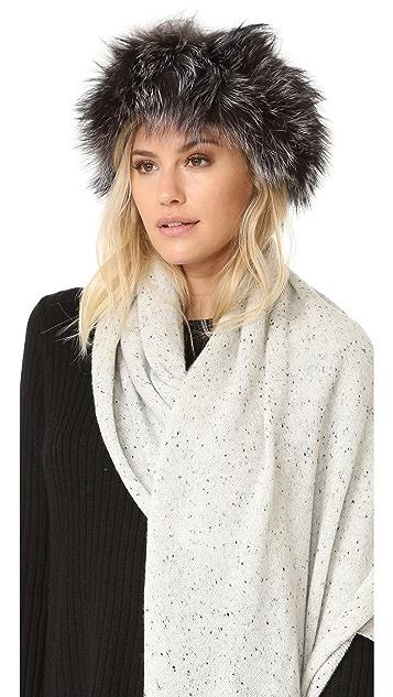 Adrienne Landau Fur Headband ... da3787437c5