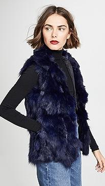 Fur Accent Vest