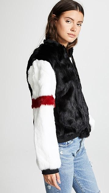 Adrienne Landau Fur Bomber