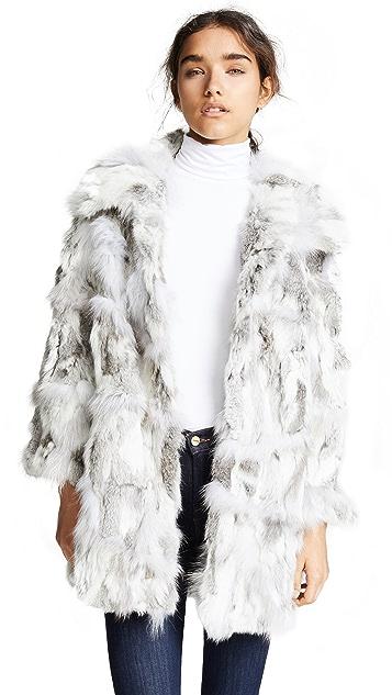 Adrienne Landau Fur Coat