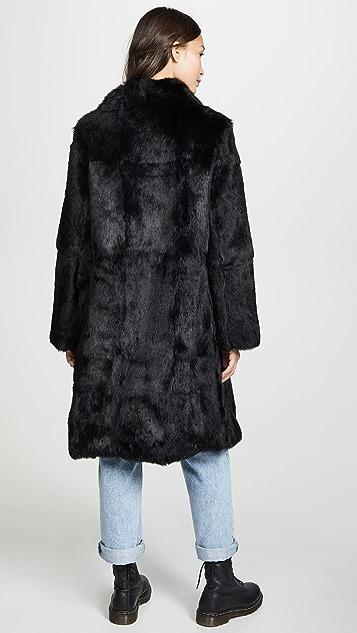 Adrienne Landau 兔子外套
