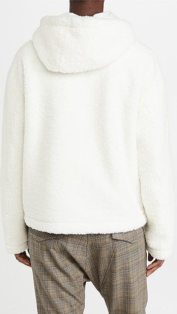 Adrienne Landau Faux Fur Coat