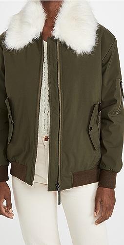 Adrienne Landau - Faux Fur Jacket