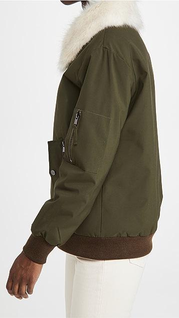Adrienne Landau 仿皮毛夹克