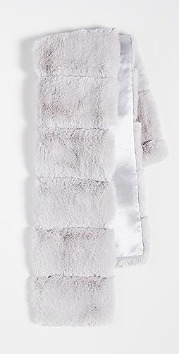Adrienne Landau - Faux Fur Pull Thru Scarf