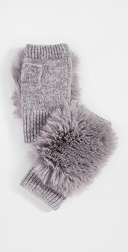 Adrienne Landau - Knit Fingerless Gloves