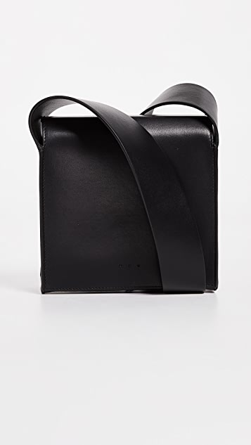 AESTHER EKME Cross Body Box Bag - Black
