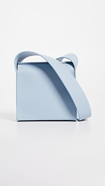AESTHER EKME Cross Body Box Bag - Sky Blue