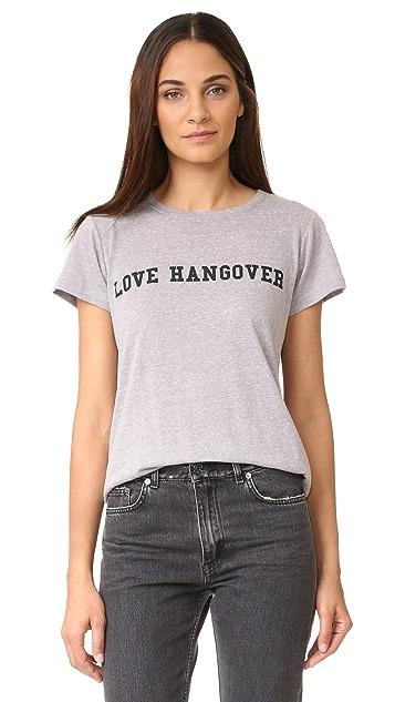 A Fine Line Love Hangover Tee