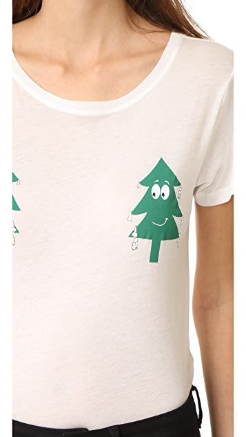 A Fine Line Hastings Two Pines Tee