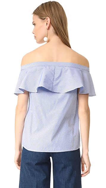 After Market Ruffle Blouse