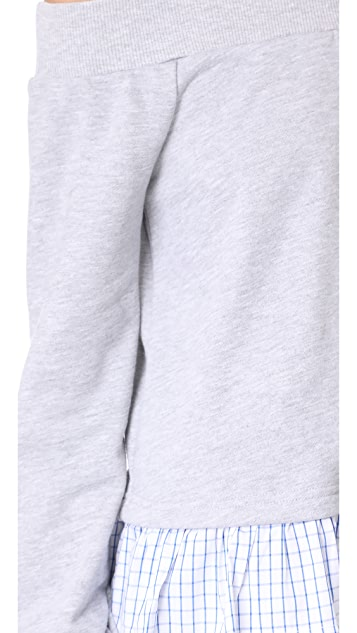 After Market Off Shoulder Sweatshirt